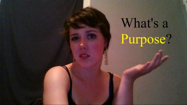 What's a purpose?